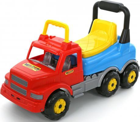Каталка-машинка Wader Буран-2 красный от 2 лет пластик 43801