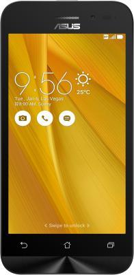 "Смартфон ASUS Zenfone Go ZB452KG жёлтый 4.5"" 8 Гб Wi-Fi GPS 90AX0144-M01160"