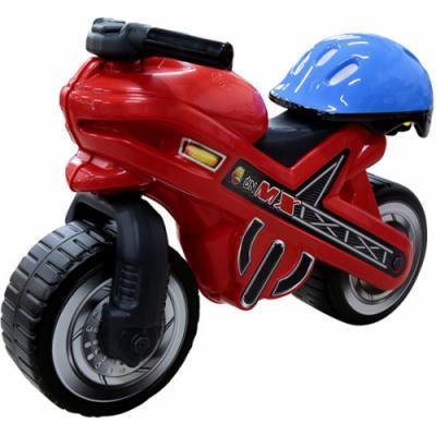 Каталка-мотоцикл Coloma Moto MX от 2 лет пластик 46765 со шлемом каталки coloma тримарк 2 с панелью