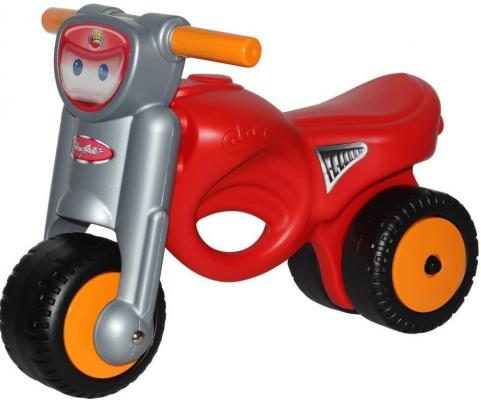 Каталка-мотоцикл Coloma Мини-мото красный от 2 лет пластик 48226 мото шлем beon 110a