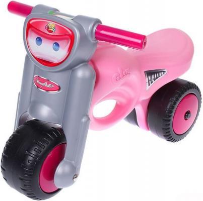 Каталка-мотоцикл Coloma Мини-мото розовый от 2 лет пластик 48233 каталка ходунок coloma trimarc разноцветный от 18 месяцев пластик