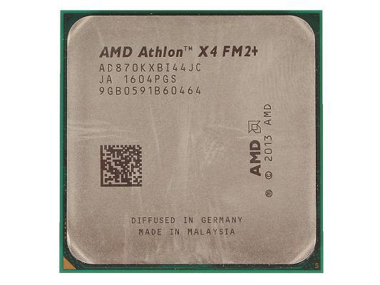 Процессор AMD Athlon X4 870K AD870KXBI44JC Socket FM2+ OEM процессор amd athlon x4 880k godavari fm2 l2 4096kb oem ad880kxbi44jc