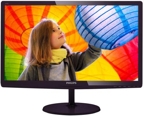 "Монитор 23.6"" Philips 247E6LDAD 00/01 монитор philips 243v7qjabf 00 01"