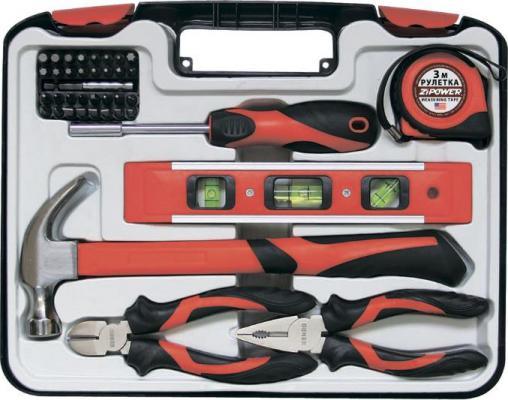Набор инструментов ZIPOWER PM 5115 39шт набор инструментов для автомобиля zipower профессионального качества 172 предмета pm 3961