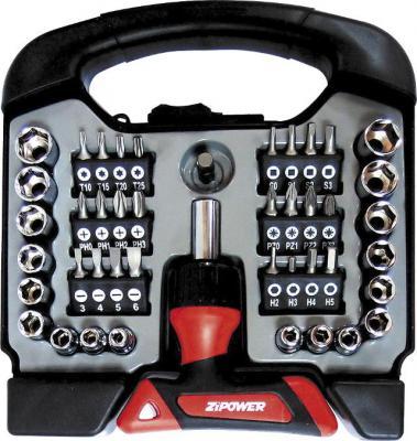 Набор инструмента ZIPOWER PM 5131 44шт мойка высокого давления zipower pm 5080