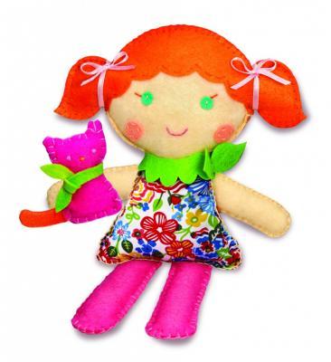 Набор для шитья 4M Школа шитья Кукла и котенок от 8 лет 00-02766