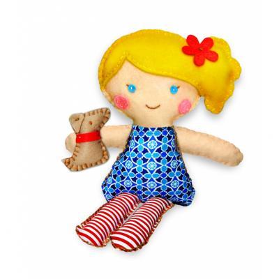 Набор для шитья 4M Кукла и щенок от 8 лет 00-02767