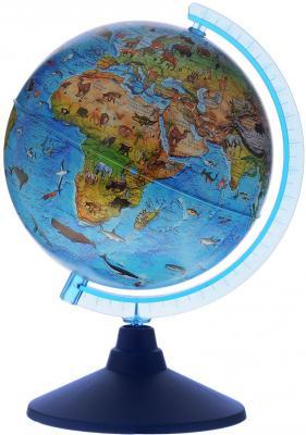 Купить GLOBEN Глобус Зоогеографический (Детский) 210 серия Евро Ке012100207, Пластик, Для всех, Глобусы