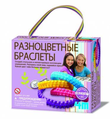 Набор для создания браслетов 4M Разных цветов от 5 лет 00-04643