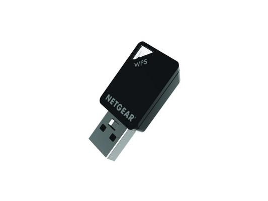 Беспроводной USB адаптер NETGEAR A6100-100PES 433Mbps 802.11ac 2.4/5GHz