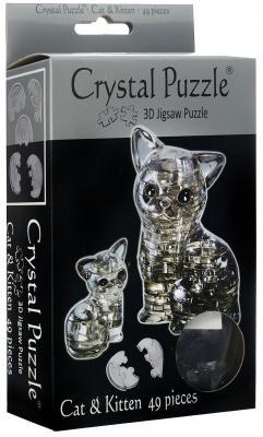 Головоломка CRYSTAL PUZZLE Кошка старше 10 лет 90226