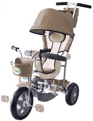 Велосипед Rich Toys Galaxy Лучик с капюшоном 5593/Л001 коричнево-бежевый
