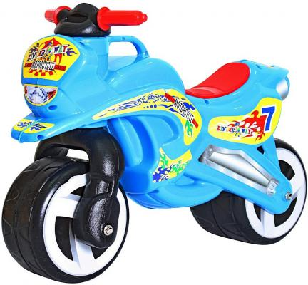 Беговел Rich Toys MOTORCYCLE 7 голубой 11-006