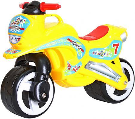 Беговел Rich Toys MOTORCYCLE 7 желтый 11-006