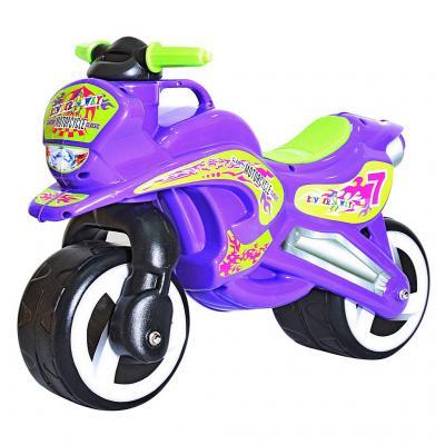 Беговел Rich Toys MOTORCYCLE 7 фиолетовый 5484/11-006