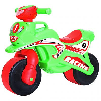 Беговел Rich Toys MOTOBIKE Racing 138 5482 зелено-красный