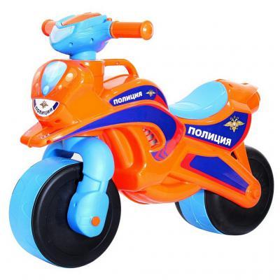 Беговел Rich Toys MOTOBIKE Police 139/54 со светом и сигналами 5467 оранжево-синий
