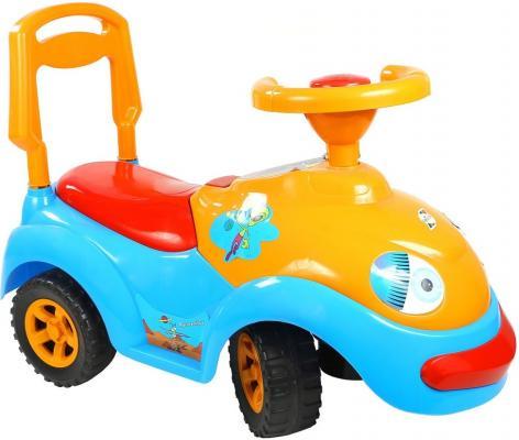 Каталка-машинка Rich Toys Луноходик синий от 10 месяцев пластик ОР119 все цены