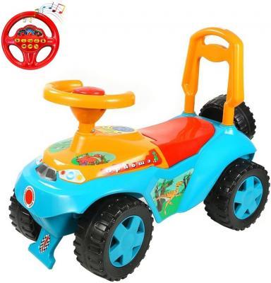 Каталка Rich Toys Ориоша голубой от 10 месяцев пластик 5311/ОР140 rich toys sl 10 морковь