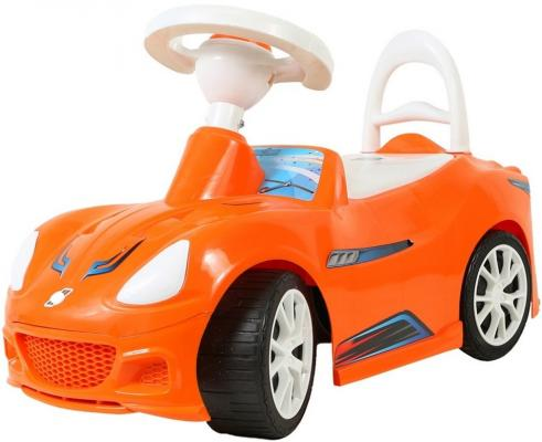 Каталка R-Toys Спорткар оранжевый от 10 месяцев пластик ОР160