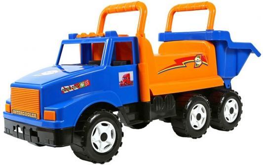 Каталка-самосвал Rich Toys МАГ с кузовом, 6 колёс синий от 10 месяцев пластик ОР211
