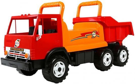 Каталка-самосвал Rich Toys Intercooler с кузовом, 6 колёс красный от 10 месяцев пластик ОР412