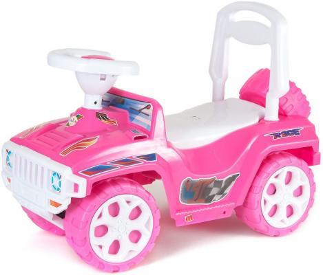 Каталка-машинка Rich Toys Race Mini Formula 1 розовый от 10 месяцев пластик ОР419