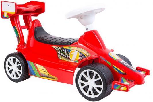 Каталка Rich Toys Гоночный Спорткар Super Sport 1 красный от 10 месяцев пластик ОР894
