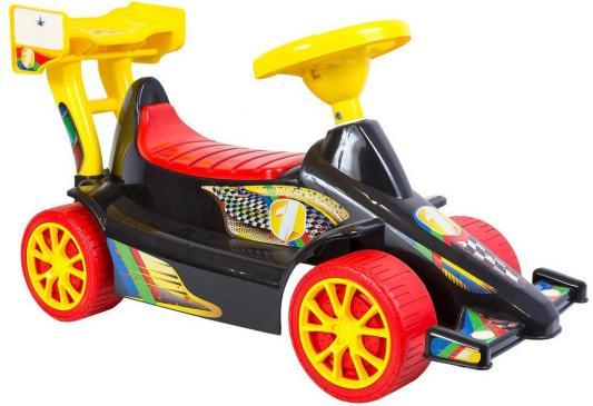Каталка Rich Toys Гоночный Спорткар Super Sport 1 от 10 месяцев пластик черно-красный ОР894