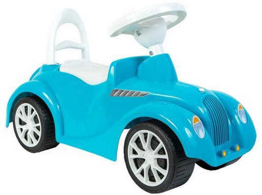 Каталка-машинка Rich Toys Ретро голубой от 10 месяцев пластик 5312/ОР900