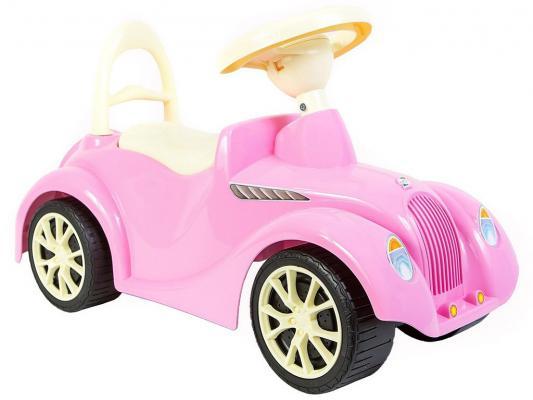 Каталка-машинка Rich Toys Ретро розовый от 10 месяцев пластик 5314/ОР900
