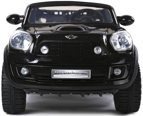 JJ258 Электромобиль BMW MINI 12V черный  5458