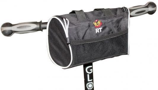 Сумка RichToys City на самокат и велосипед для мобильного и прочего черный 5350