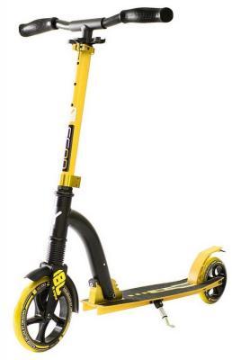 Самокат Y-SCOO RT 180 Slicker Deluxe желтый 5384