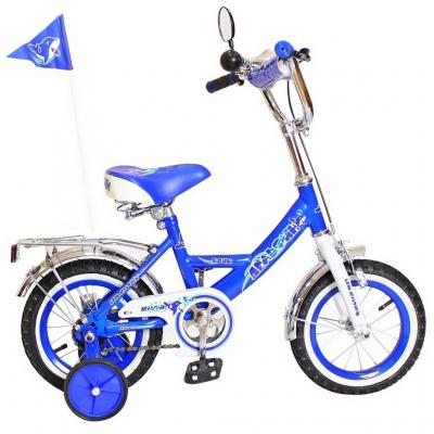 """Велосипед Rich Toys BA Дельфин 12"""" 1S синий 5437/KG1205"""