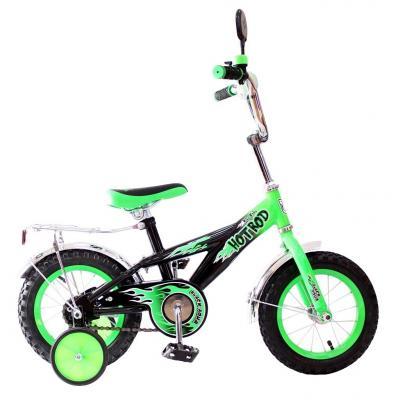 Велосипед Rich Toys BA Hot-Rod 12 1S зеленый 5419/KG1206 велосипед двухколёсный rich toys ba camilla 14 1s розовый kg1417