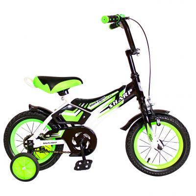 "Велосипед Rich Toys KG1210 BA Sharp 12"" 1S зеленый 5431"