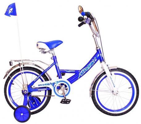 """Велосипед Rich Toys BA Дельфин 14""""; 1s РОССИЯ синий KG1405"""
