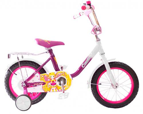 "Велосипед Rich Toys BA Camilla 14"", 1s розовый KG1417"