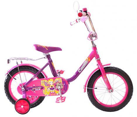 """Велосипед Rich Toys BA Camilla 14"""", 1s фиолетовый KG1417"""