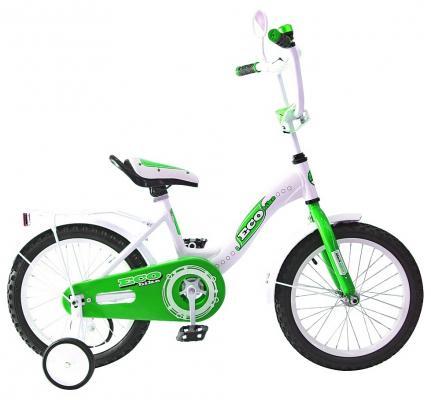 Велосипед Rich Toys Aluminium BA Ecobike зеленый 5413/KG1421