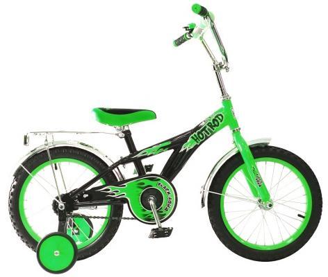 Велосипед Rich Toys BA Hot-Rod 16 1s зеленый KG1606 велосипед двухколёсный rich toys ba camilla 14 1s розовый kg1417