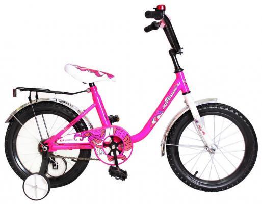"Велосипед Rich Toys Мультяшка 1403 14""; 1s розовый XB1403"