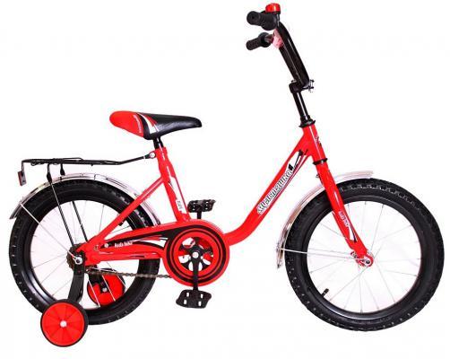 """Велосипед Rich Toys Мультяшка 1604 16"""" 1s красный XB1604"""