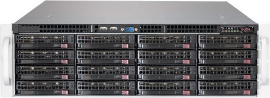 Серверный корпус 3U Supermicro CSE-836BE1C-R1K03JBOD 1000 Вт чёрный