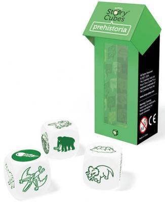 """Настольная игра Rorys Story Cubes игральные кубики RSC12 Дополнительный набор """"Динозавры"""""""
