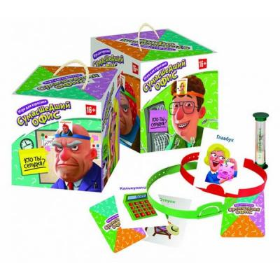 Настольная игра Биплант семейная Сумасшедший офис 10043 настольная игра семейная rorys story cubes кубики историй бэтмен rsc104