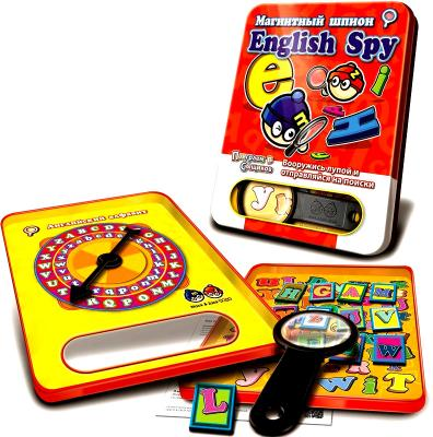 Магнитная игра Mack & Zack развивающая SP_ABC English Spy 4897030664113 цены онлайн