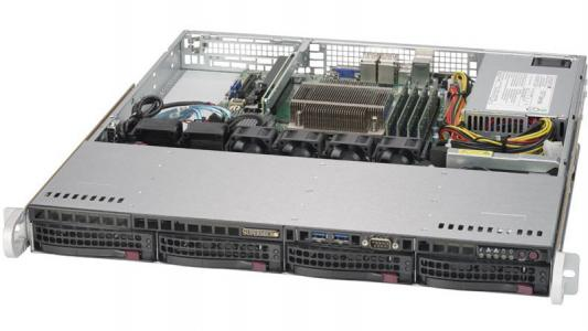 Серверная платформа SuperMicro SYS-5019S-MN4 платформа supermicro sys 5019s m2 raid 1x350w