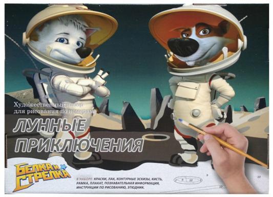Раскраска по номерам МАСТЕР-КЛАСС Лунные приключения от 5 лет МК 145-01